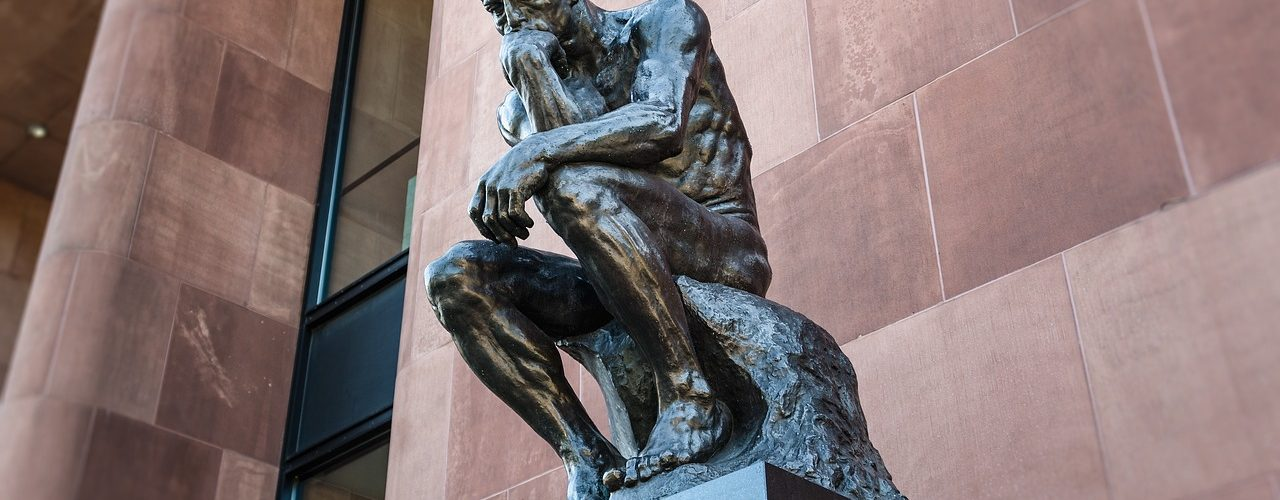 O Pensador, escultura de Auguste Rodin